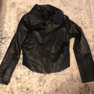 Nixon Faux Leather Jacket